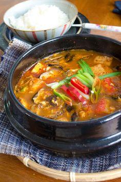 Recipe: Sundubu Jjigae, Korean Silken Tofu Soup.