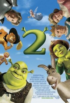 Shrek and princess fiona return from their honeymoon to find an invitation to visit. Shrek has rescued princess fiona, got married, and now is time to meet the parents. Shrek Film, Shrek 2, Fiona Shrek, Eddie Murphy, Cameron Diaz, 2 Movie, Love Movie, Movie Theater, Cartoon Movies