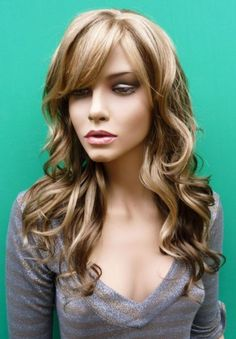 Curly Brown Hair Color Highlights