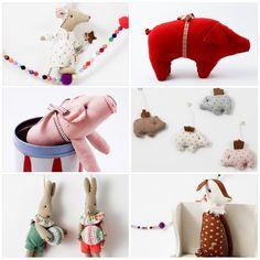 News for christmas #Christmas #pig #bambi #christmasornament #maileg #bunny