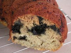 Light Banana Blueberry Bread - MADE IT - 08/11/12 - Made it even healthier by doing the following. used 1/2 white and 1/2 whole wheat flour, only used 1/2 cup of sugar (and half of that was brown sugar.), added ground flax seed and cinnamon, substituted unsweetened applesauce for the yogurt, cut the butter by a little bit.