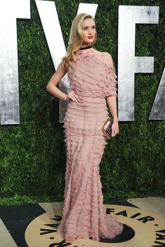 Rosie Huntington-Whiteley in Valentino at the Oscars after-party