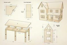Craft project: Making a dollhouse is much like building a conventional house – it takes time and patience. While there are a lot of pieces to this challenging project, they are not overly complicated to cut and assemble.