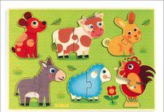 #puzzle in the meadow by #Djeco from www.kidsdinge.com https://www.facebook.com/pages/kidsdingecom-Origineel-speelgoed-hebbedingen-voor-hippe-kids/160122710686387?sk=wall