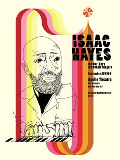 Isaac Hayes at Apollo Theatre 1969