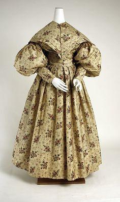 Dress, Afternoon  Date: ca. 1835 Culture: American
