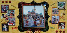 Disney Scrapbook Layouts classic   ... - Prismatics - 12 x 12 Cardstock - Dimpled Texture - Classic Yellow