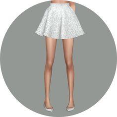 Flare skirt V1 Single color at Marigold • Sims 4 Updates