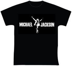 """Michael Jackson R$ 30,00 + frete Todas as cores Personalizamos e estampamos a sua ideia: imagem, frase ou logo preferido. Envie a sua ideia ou escolha uma das """"nossas"""".... Blog: http://knupsilk.blogspot.com.br/ Pagina facebook: https://www.facebook.com/pages/KnupSilk-EstampariaSerigrafia/827832813899935?pnref=lhc https://twitter.com/KnupSilk"""