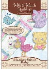 Blanket Stitch Baby Mix & Match Collection