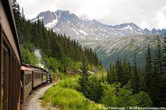 Skagway, Alaska where we did the White Pass/Yukon Railroad tour.