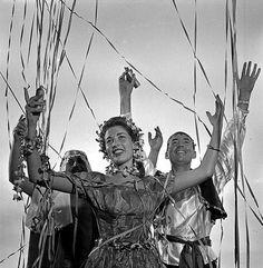 Foliões no carnaval carioca Jean Manzon, 1940