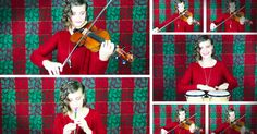 Taryn Harbridge will send chills straight up your spine with her Celtic Christmas medley. What talent to make such joyful sound. WOW!