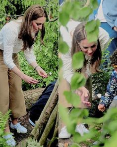 Duchess of Cambridge roasts marshmallows as she visits The Chelsea Flower Show on May 2019 in London, England. Duchess Kate, Duke And Duchess, Duchess Of Cambridge, Chelsea Garden, Royal Uk, William Kate, Prince William, British Royal Families, Garden Show
