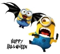 Minion Halloween, Happy Halloween, Despicable Minions, Illustration, Fictional Characters, Illustrations, Fantasy Characters