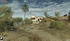 ArtStation - Battlefield Hardline - Sovereign Land & Dust Bowl, Simon Barle
