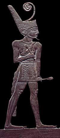 Rey NARMER fundador de la Primera Dinastía y Reunificador del Alto y Bajo Egipto en un solo estado.