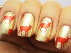 red reindeers