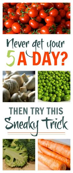 Never get your five a day? Then try this sneaky trick
