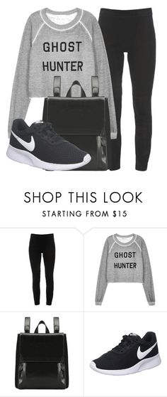 """Outfit #1922"" by lauraandrade98 on Polyvore featuring moda, Elie Tahari, Wildfox y NIKE"