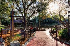 Miner's Cove in Frontierland at Walt Disney World's Magic Kingdom. See more photos at http://www.burnsland.com/blog/category/daily-photo/