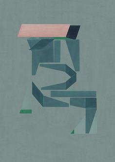Abstract composition 523 Giclee print - 60 x 84 cm Limited edition (20) www.jesusperea.com