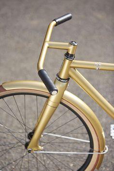 #SpeedvagenUrbanRacer #SolidGold #BikeLove. #RideYourBike. #Riding.