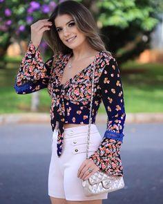 Lindo look, top! Boho Fashion, Fashion Looks, Womens Fashion, Summer Outfits, Cute Outfits, Estilo Boho, Western Wear, Ideias Fashion, Street Style
