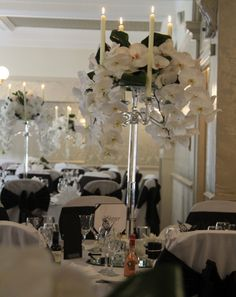 Flower Design Events: A Sneaky Peek at Samantha & Luke's Orchid Extravaganza Wedding Day at St Mary's Penwortham & Bartle Hall Phalaenopsis Orchid, Orchids, Elegant Wedding, Wedding Day, Crystal Candelabra, White Wedding Flowers, Beautiful Couple, Flower Designs, Wedding Invitations