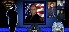 IN MEMORIAM: TROOPER TREVOR CASPER. 21 year old Trooper Trevor Casper was shot and killed in Fond du Lac while attempting to apprehend a bank robbery and murder suspect. Both suspect and officer dead at the scene. Police Quotes, Officer Down, Police Lives Matter, Police Life, Local Hero, Fallen Heroes, Thin Blue Lines, Selfish, Law Enforcement