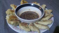 Gluten free ginger pork dumplings
