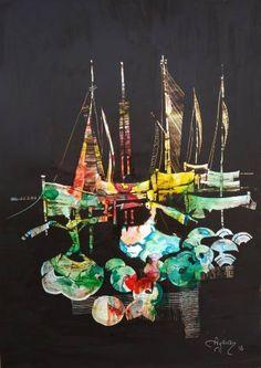 Dancers and sailboats