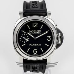 #Panerai PAM111 Luminor Marina 44mm Manual Wind Watch PAM111N - #OCWatchCompany #WatchStore #WalnutCreek