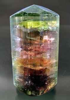 Liddicoatite, a rare member of the Tourmaline group of minerals. (via Gems & Jewelry / Liddicoatite)