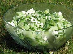Feta, Lettuce, Finger Foods, Celery, Guacamole, Potato Salad, Grilling, Cabbage, Food And Drink