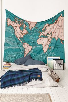 World Map Beach Towel Tapestry Wall Hanging Square Swimming Bath Microfiber Towel Blanket Colchas Indias Playa Toalha De Praia