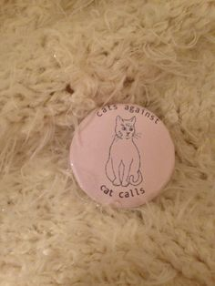 1 1/4 inch button    grrrl power    if you would like a really specific color message me :-)  choice of glitter/no glitter (shown with no glitter)