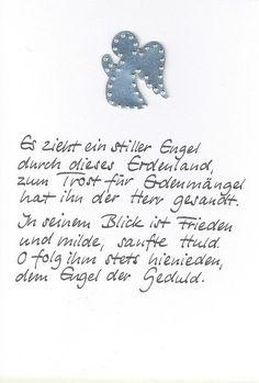 Weihnachtskarte Engel von Kartenfreude auf DaWanda.com