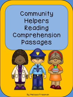This package contains 17 reading passages about community helpers. There are 3 questions for students to answer about each of the passages. There are also 2 cut and paste worksheets and a word search. These passages are aimed at a higher first grade level when students can read independently.