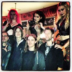 Us with the stiltladies @ HRH 2012