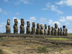 Ahu Tongariki At Easter Island