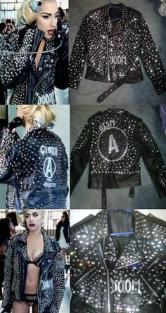 Lady Gaga Telephone Jacket by AjGurl on deviantART This is perfect!