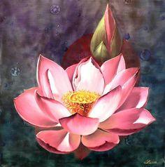 Dessin Fleur De Lotus Dessins De Fleurs Et Feuilles Pinterest