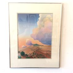 #Framed #LimitedEdition #DreamsOfTheDawn #Lithograph by #TaosArtist #DougWest