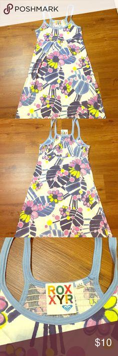 Roxy Dress A fun and cute floral print Roxy dress, perfect for summer Roxy Dresses Midi