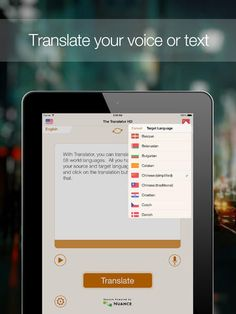 Tensift Software | Productivity | iPad | The Translator HD $0.00 | ver.1.3| $2.99 | Free for a limited time only.Please help us by rating our app on the AppStore.---------------------------------------------With Translator HD, ...