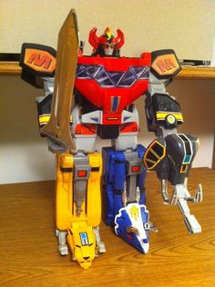 Mighty Morphin Power Rangers Original  DX Dino Megazord #2 #Bandai