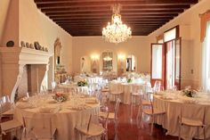 Wedding reception in Corte Pedrotta