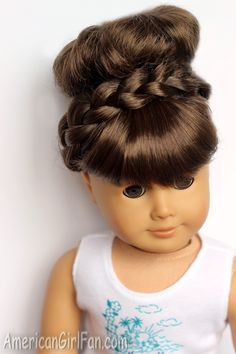 Doll Hairstyle: How To Style A Maiden Braid!