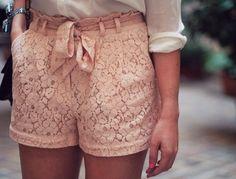 gotta love lace shorts